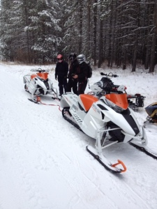 2012 Arctic Cat snowmobile test ride
