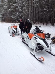 2012 Arctic Cat snowmobile test ride