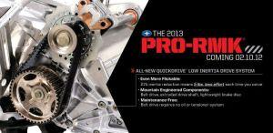 2013 Polaris Pro-RMK Quickdrive – Belt Drive System Revealed!   Sled