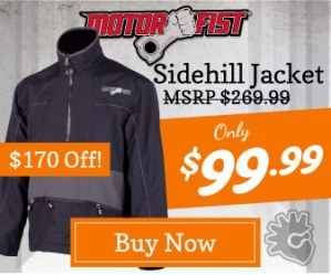 MotorFist Sidehill Jacket Deal