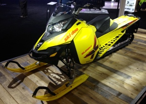 In Québec City, the new 2015 Summit X with T3 package on display.