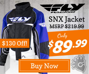 Fly Snowmobile Jacket Deal